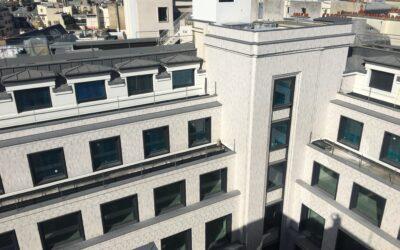 Renouveau d'un symbole de l'architecture Moderne  des années 30 à Paris