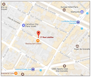 GIE BATC 17 rue letellier 75015 Paris
